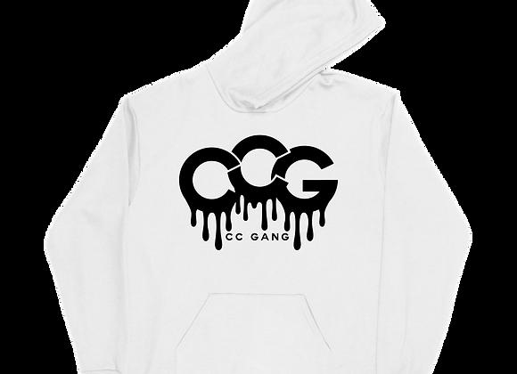 White CC Gang Hoodie