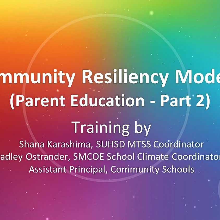 Community Resiliency Model (CRM)® Training: Part 2