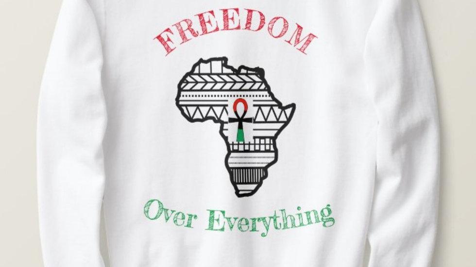 Freedom Over Everything crewneck sweatshirt