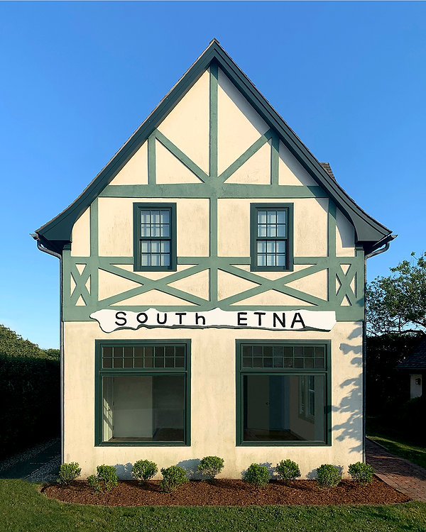 South Etna Montauk is a fine art gallery and exhibition space in the Village of Montauk
