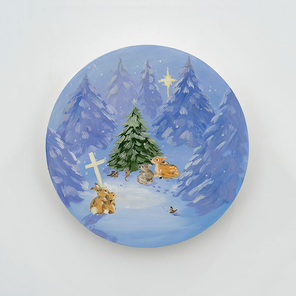 Karen Kilimnik Christmas Service for the Fores