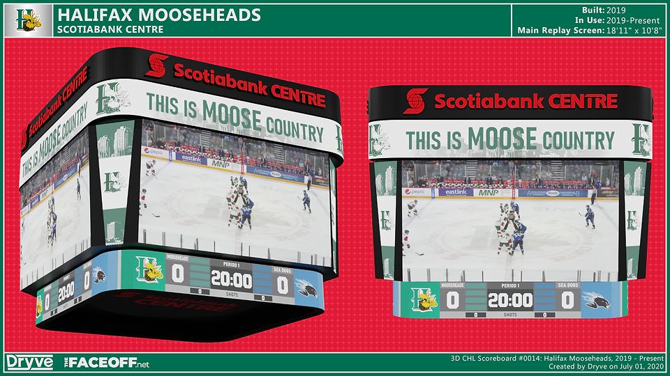 Halifax Mooseheads Scoreboard