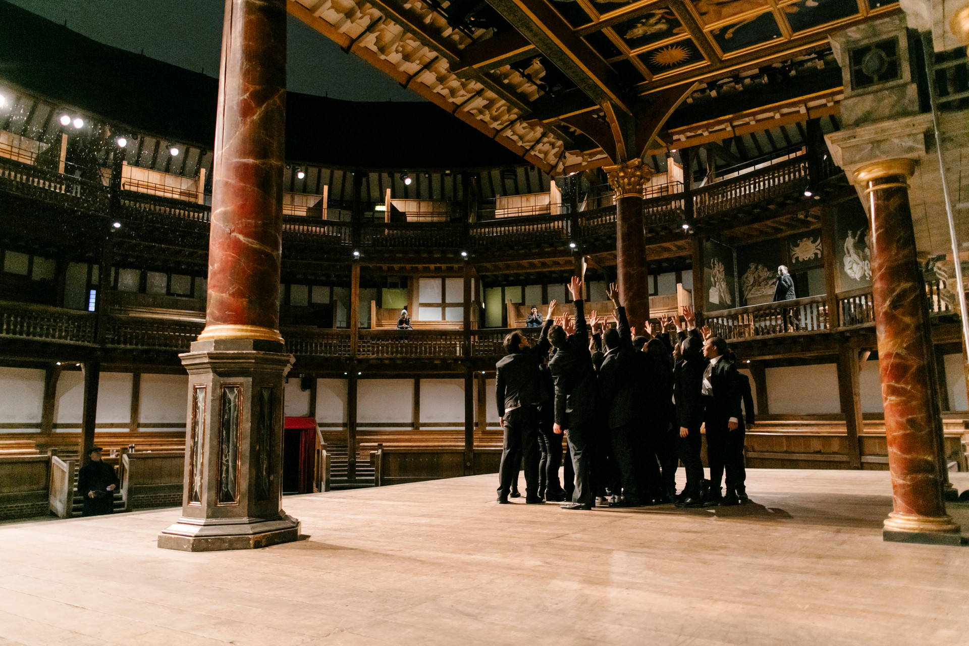 Julius Caesar on the Globe stage