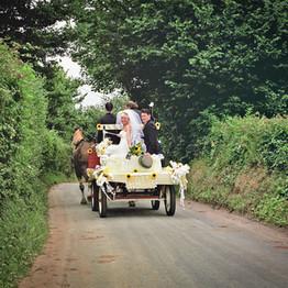 Wedding Day Carridge Ride