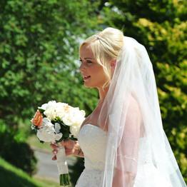 Wedding Day Bride Portrait