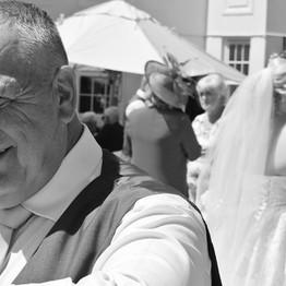 Wedding Day Dad and Bride