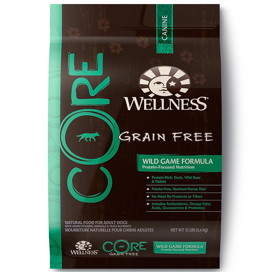Wellness Core -Wild Game (4lb)