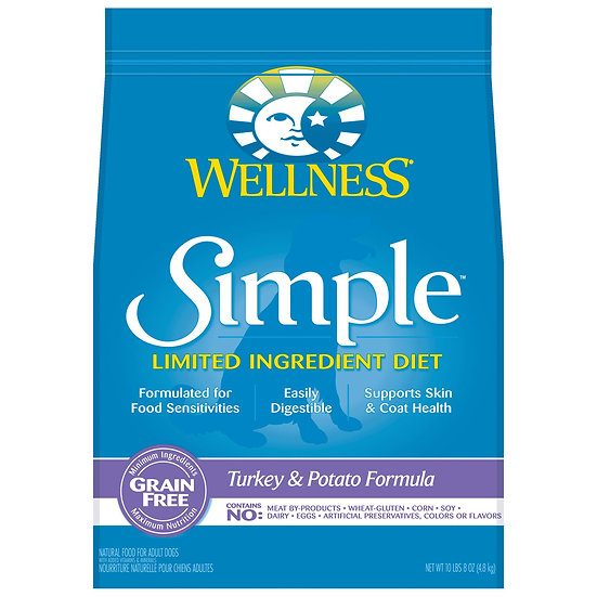Wellness Simple Solutions - Turkey & Potato Grain Free Formula (26lb)