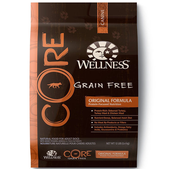 Wellness Core Original (Dog) 12lbs