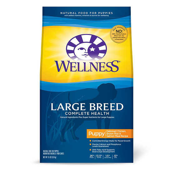 Wellness Complete Health Large Breed Adult Health Meal (30lb)