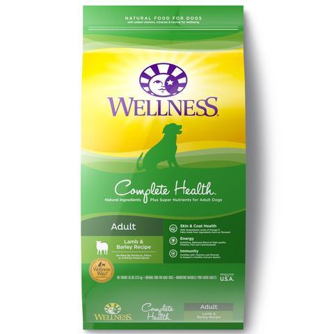 Wellness Complete Health Lamb,Barley & Salmon Meal (30lb)