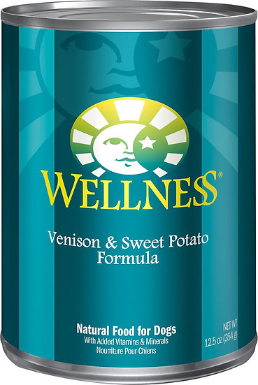 Wellness Complete Health - NZ Venison & Sweet Potato (12.5oz)