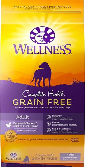 Wellness Complete Health Grain Free - Deboned Chicken & Chicken Meal (4lb)
