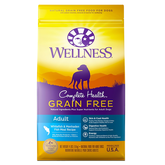 Wellness Complete Health Grain Free - Whitefish & Menhaden Meal (12lb)