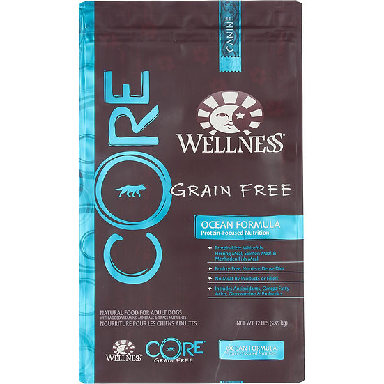 Wellness Core Ocean (Dog) 22lbs