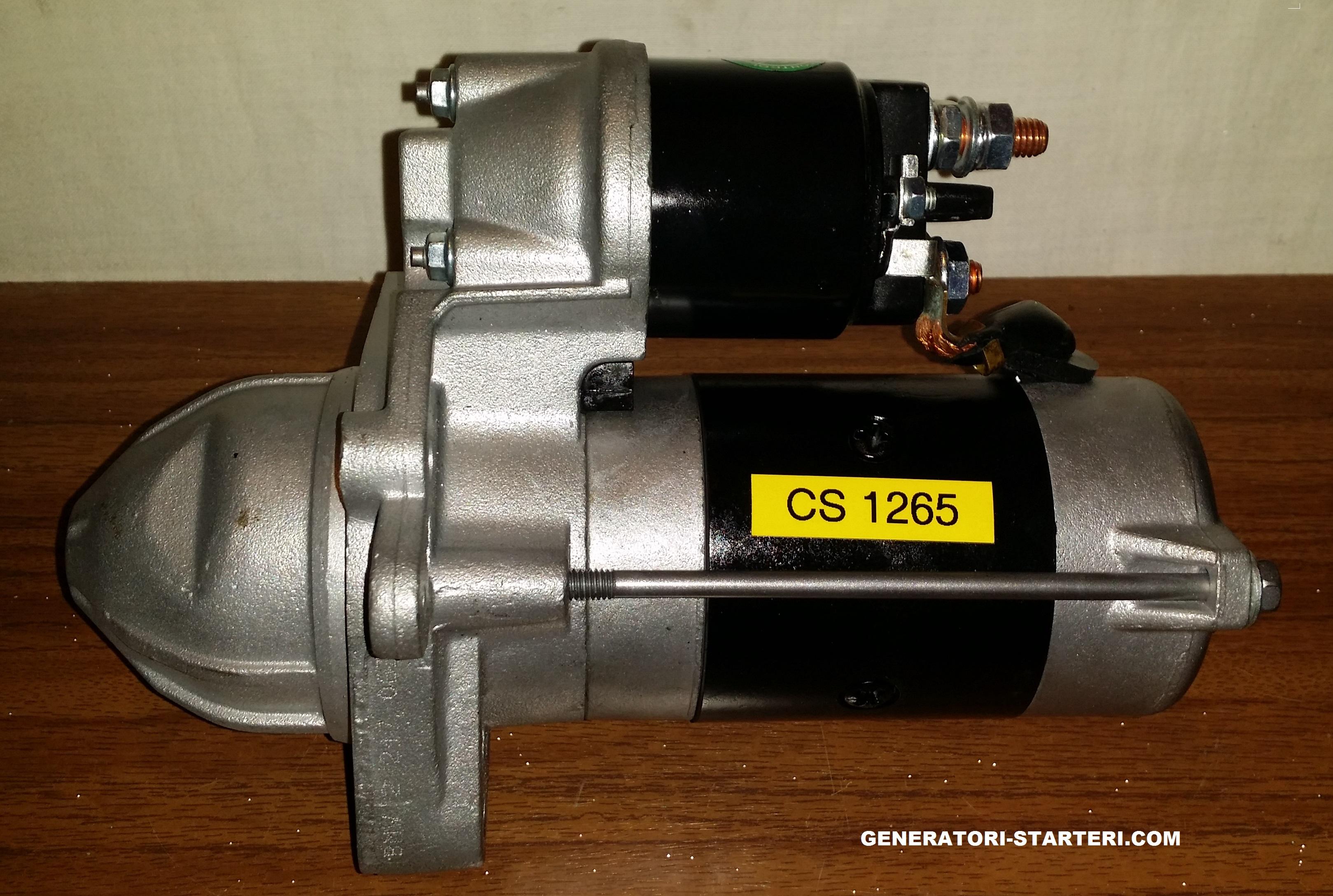 Starteru Remonts CS1265