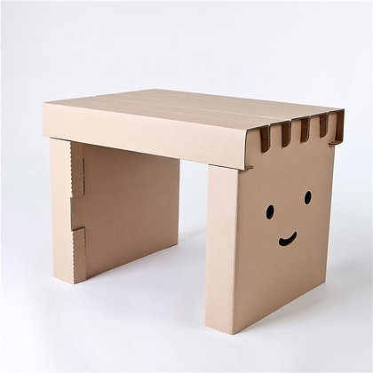 Kartonnen bureau