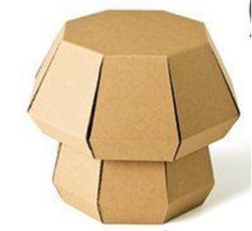 Kartonnen krukje