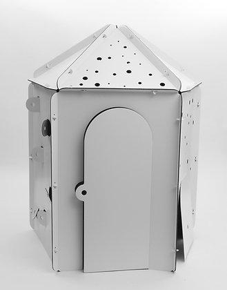 Cabane en carton à personnaliser - Pentagone