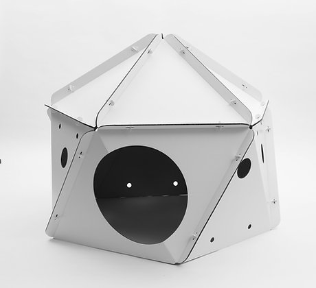 Module lunaire en carton