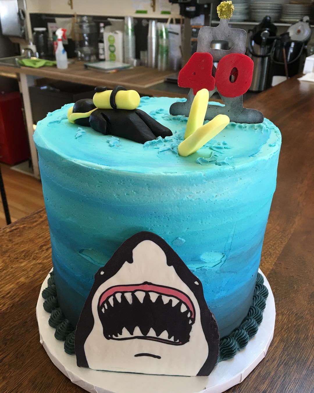 Shark Cake!