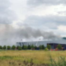 Pompiers St Cyr/St Didider : Feu Valence