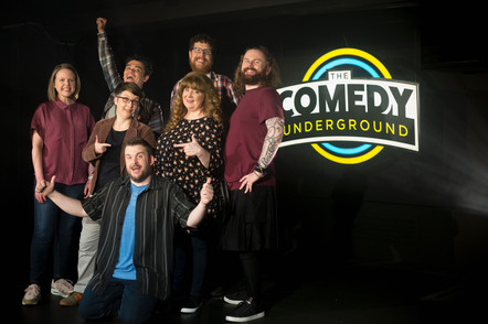 Press Shot for 'The Comedy Underground'