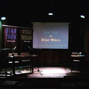 Star Trek vs Star Wars Manchester