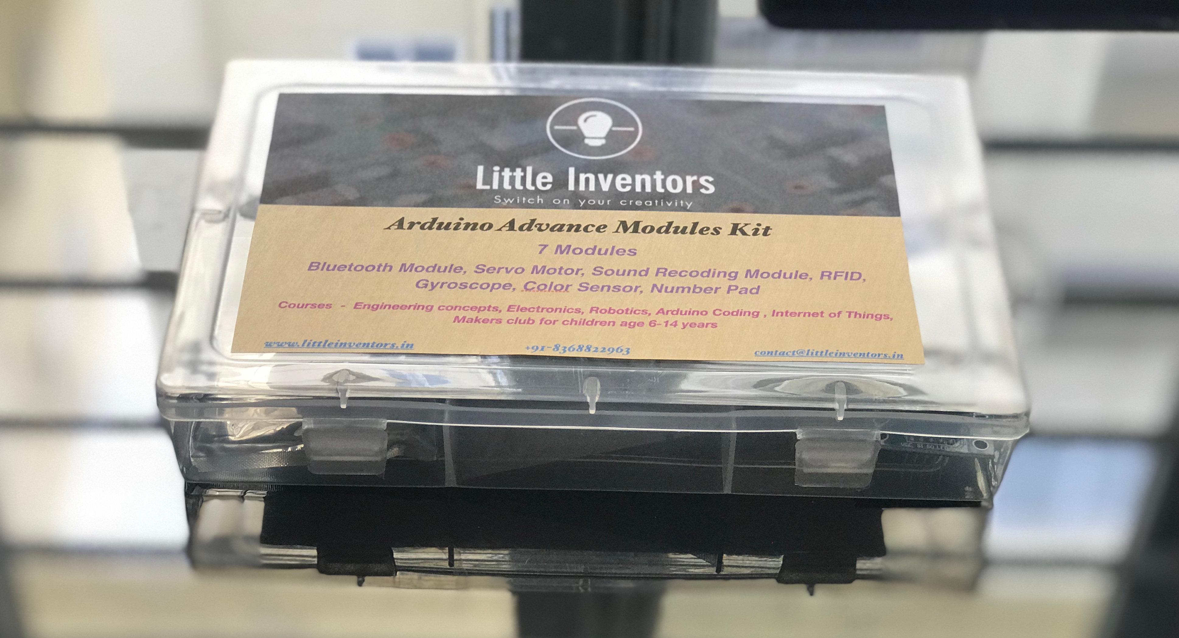 LittleInventors Advance Arduino Modules Kit | littleinventors