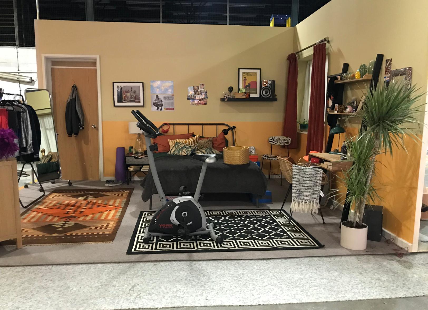 Arabella's Flat - Bedroom