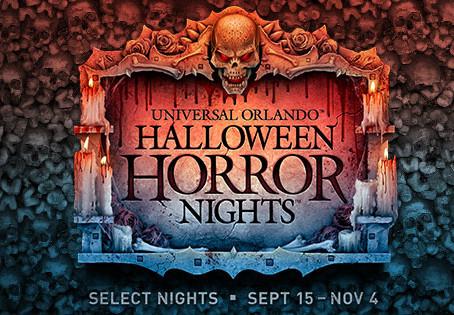 Halloween Horror Nights 27 at Universal Orlando- Scare Zones & Shows!