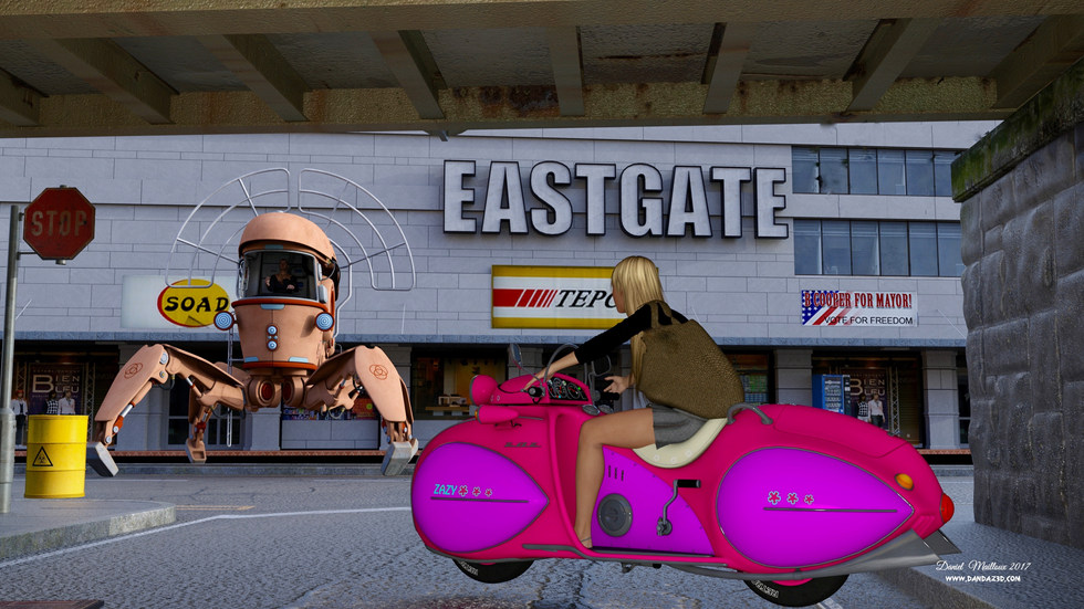 Kate at Eastgate