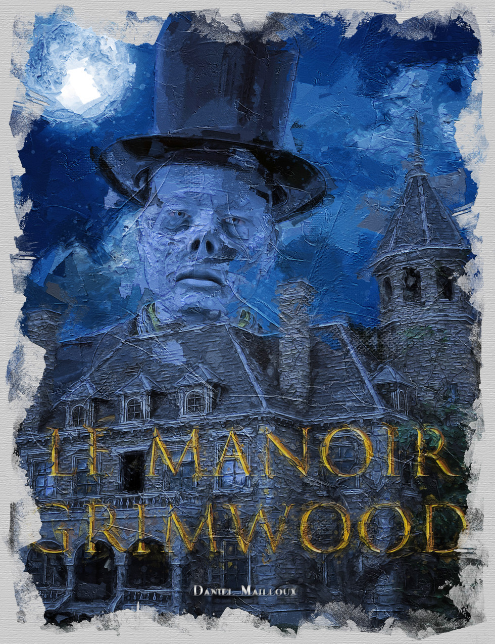 Manoir Grimwood cover painting