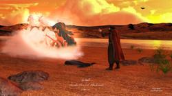 Dieu enlève Elie au ciel