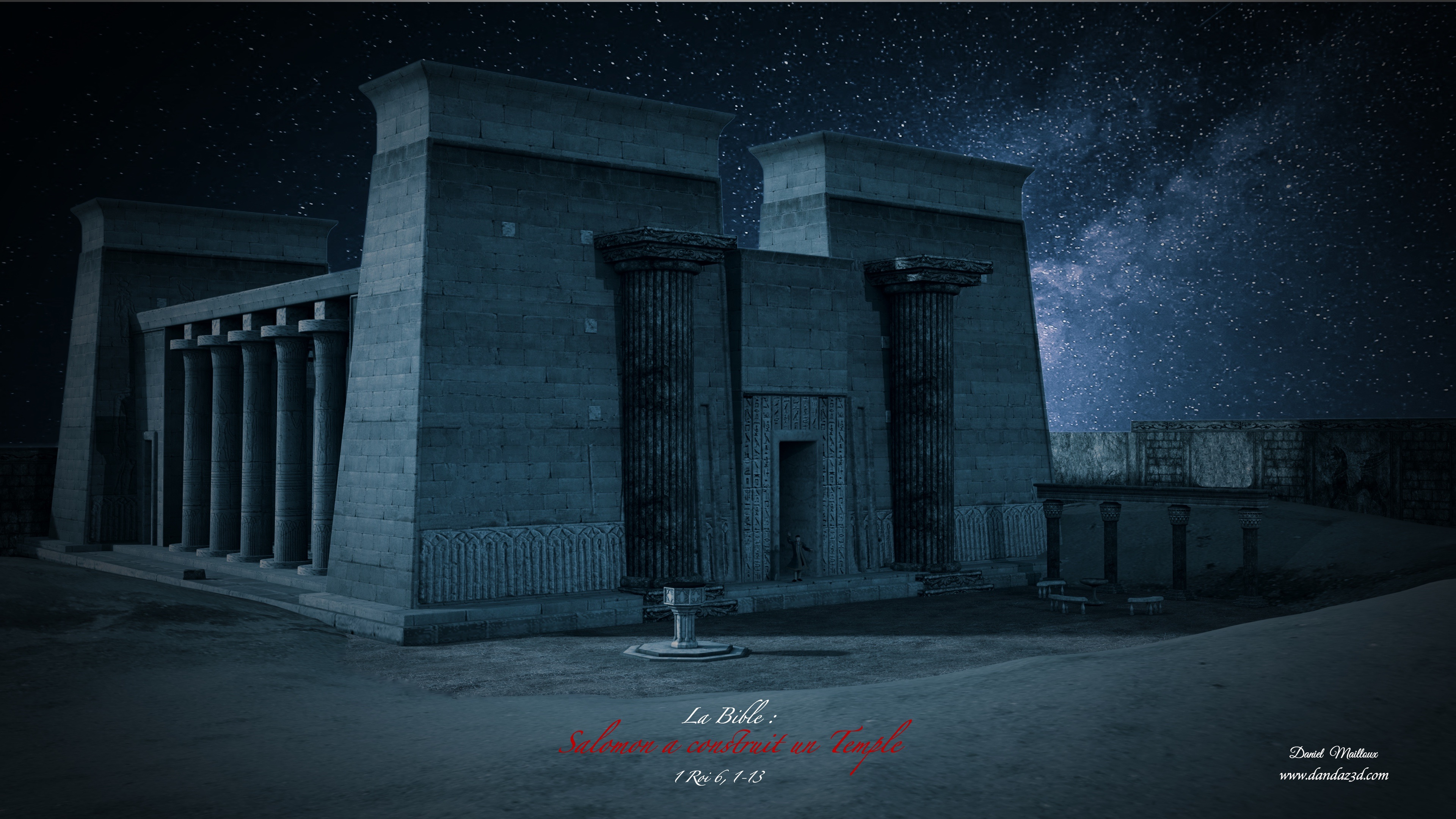 Salomon a construit un temple
