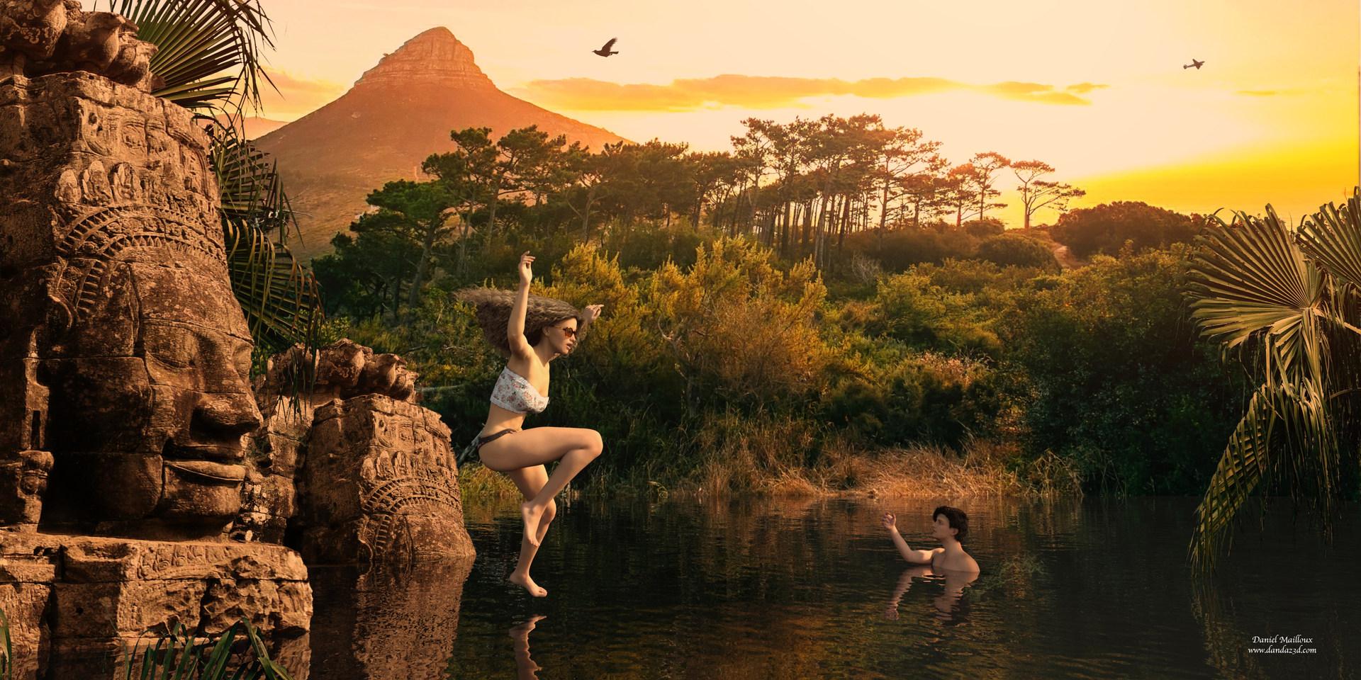 amazing jungle swim