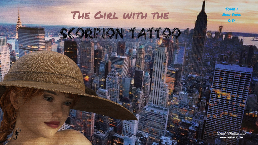 The girl with the Scorpion Tattoo