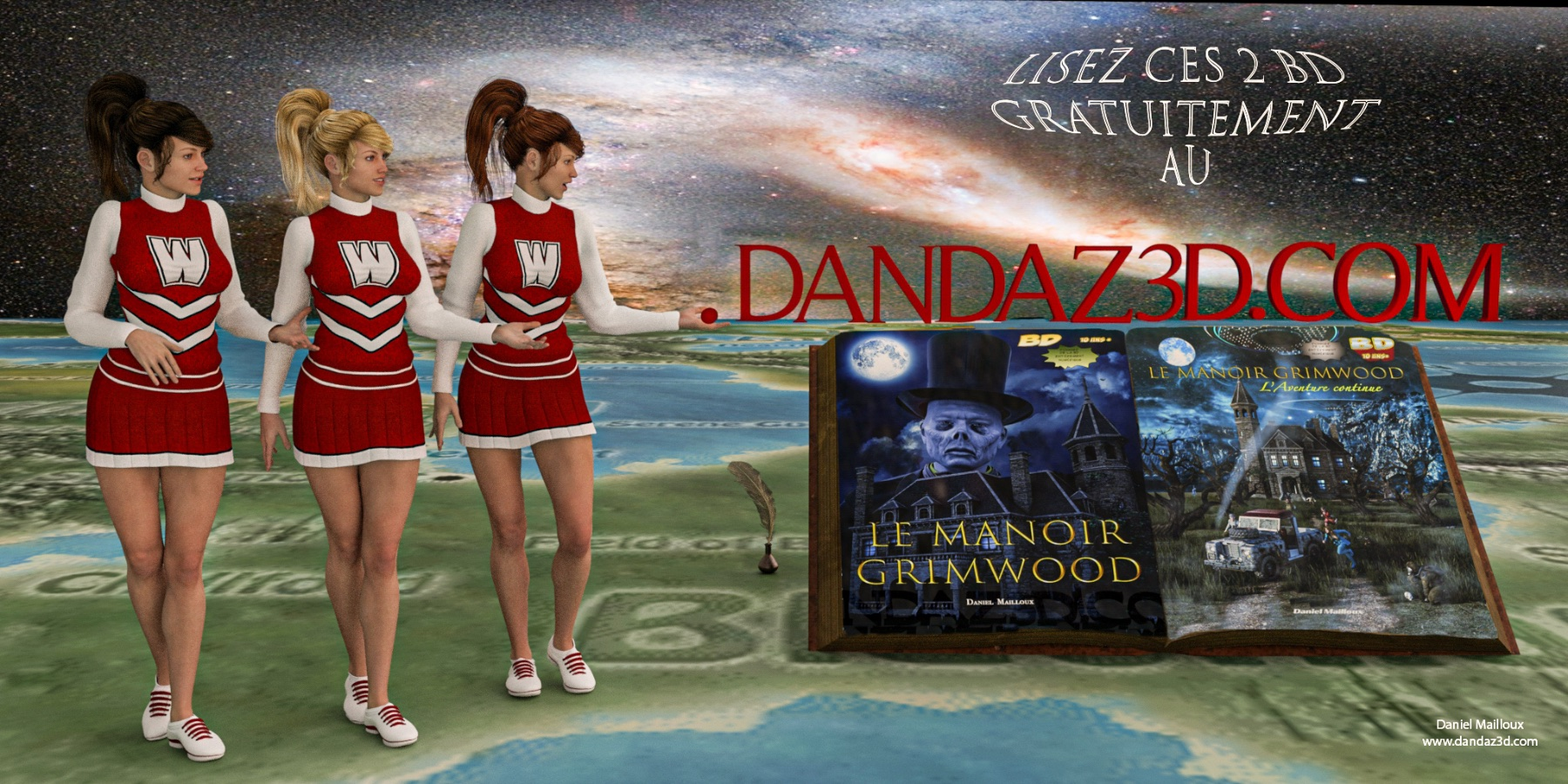 www cheeleaders at www.dandaz3d.com