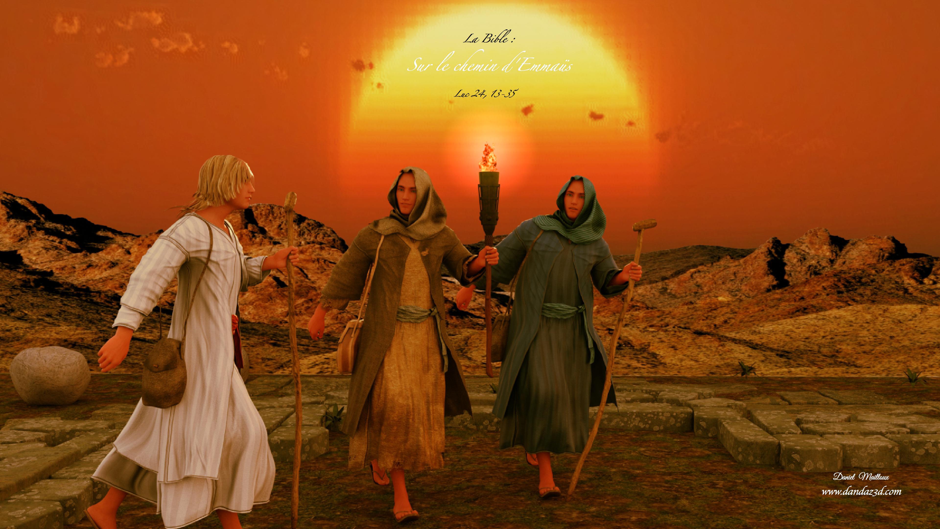 Sur le chemin d'Emmaüs