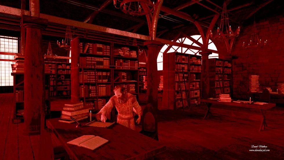 Apôtre Paul dans la Librairie