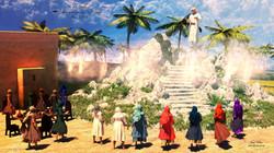 Jésus monte au ciel