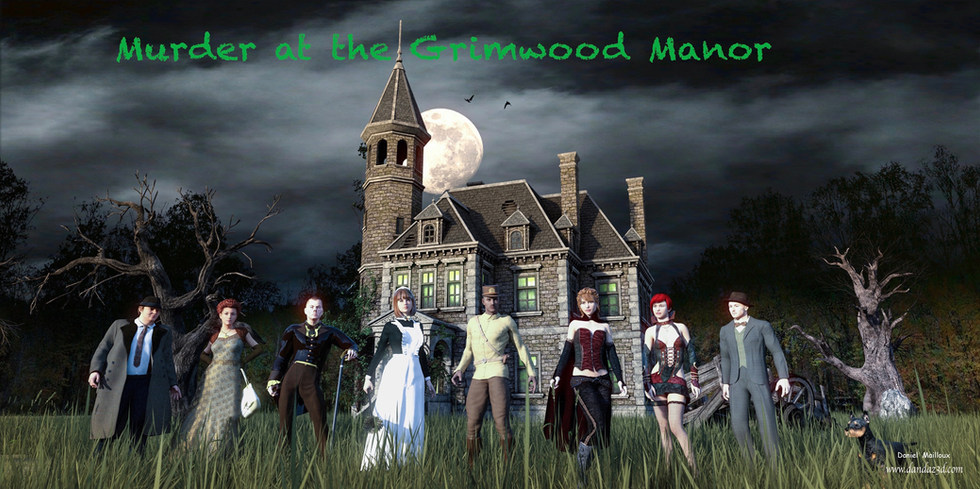 Murder at the Grimwood Manor