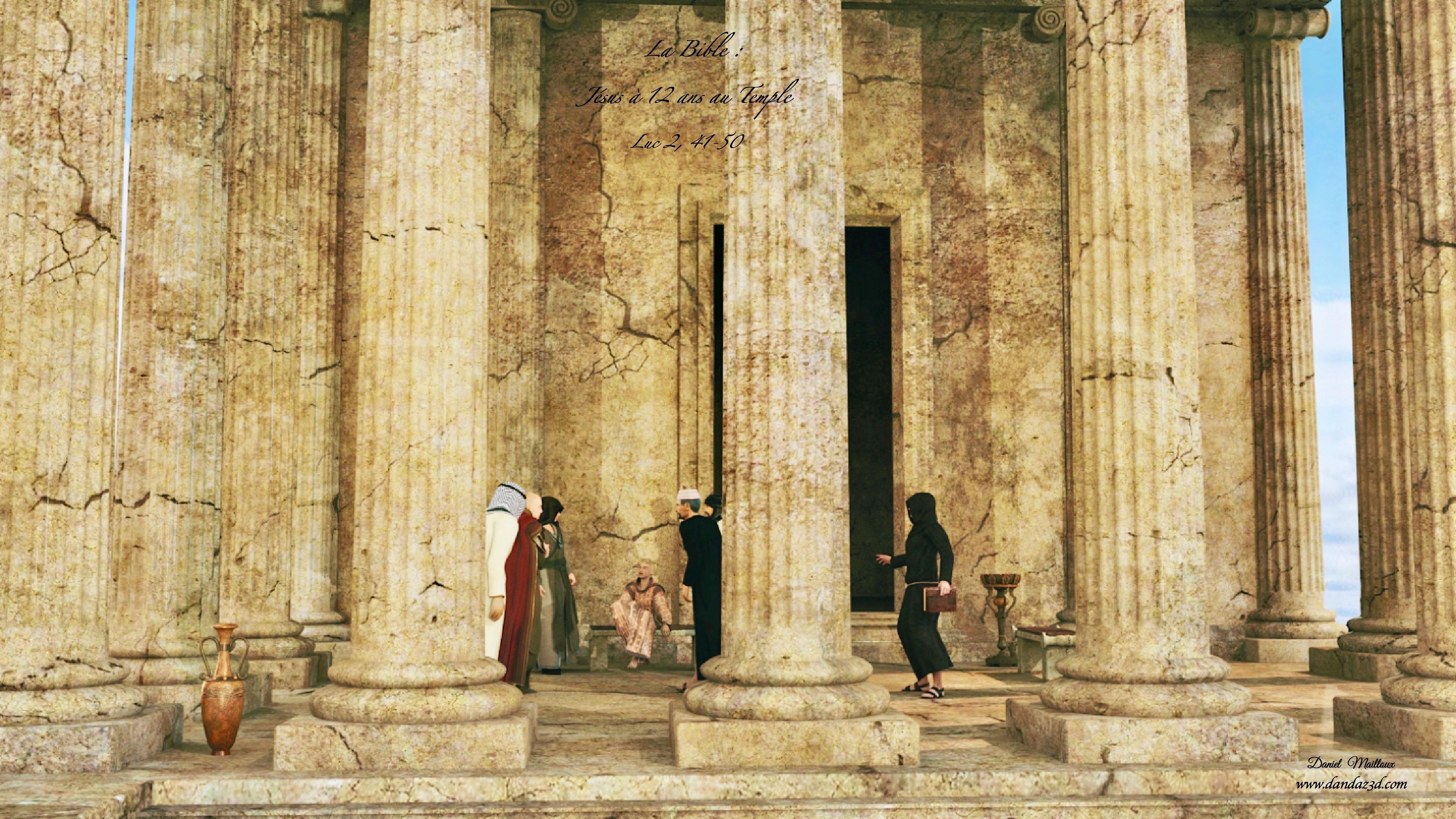 Jésus à 12 ans au Temple