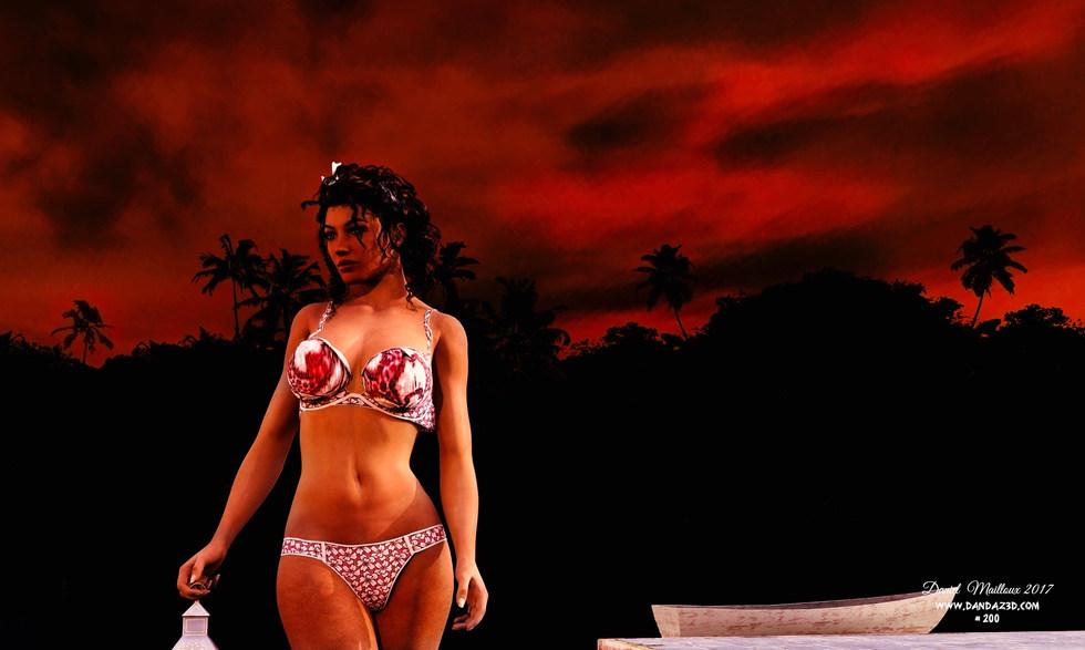 Bailarin sunset