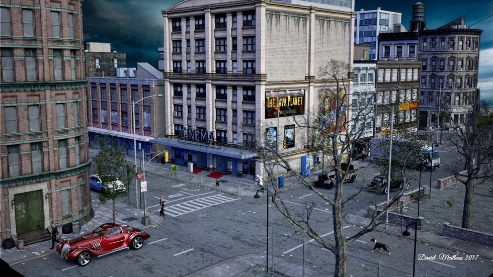 Urban Sprawl New York