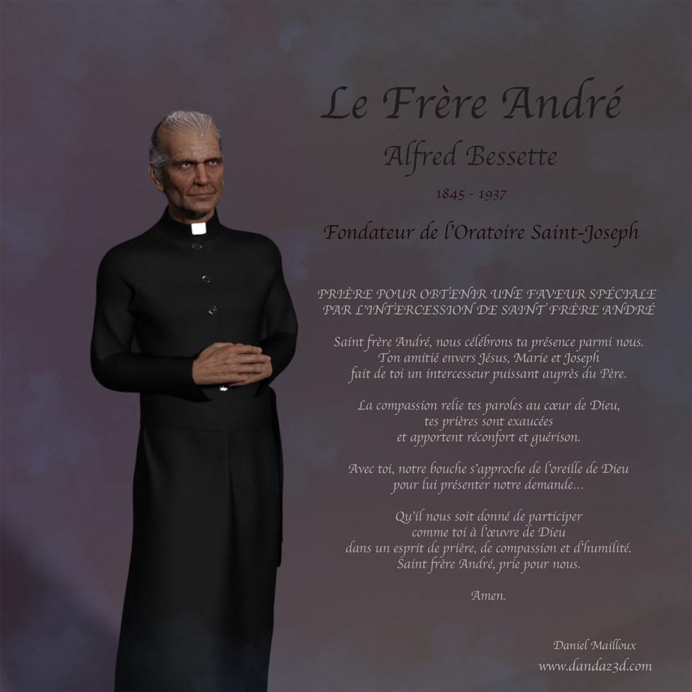 Frère André prière