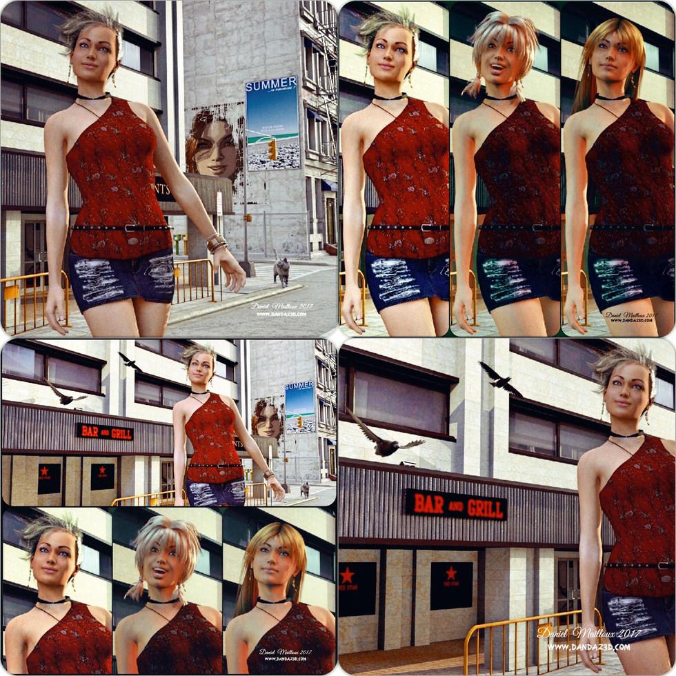 Tori in the city