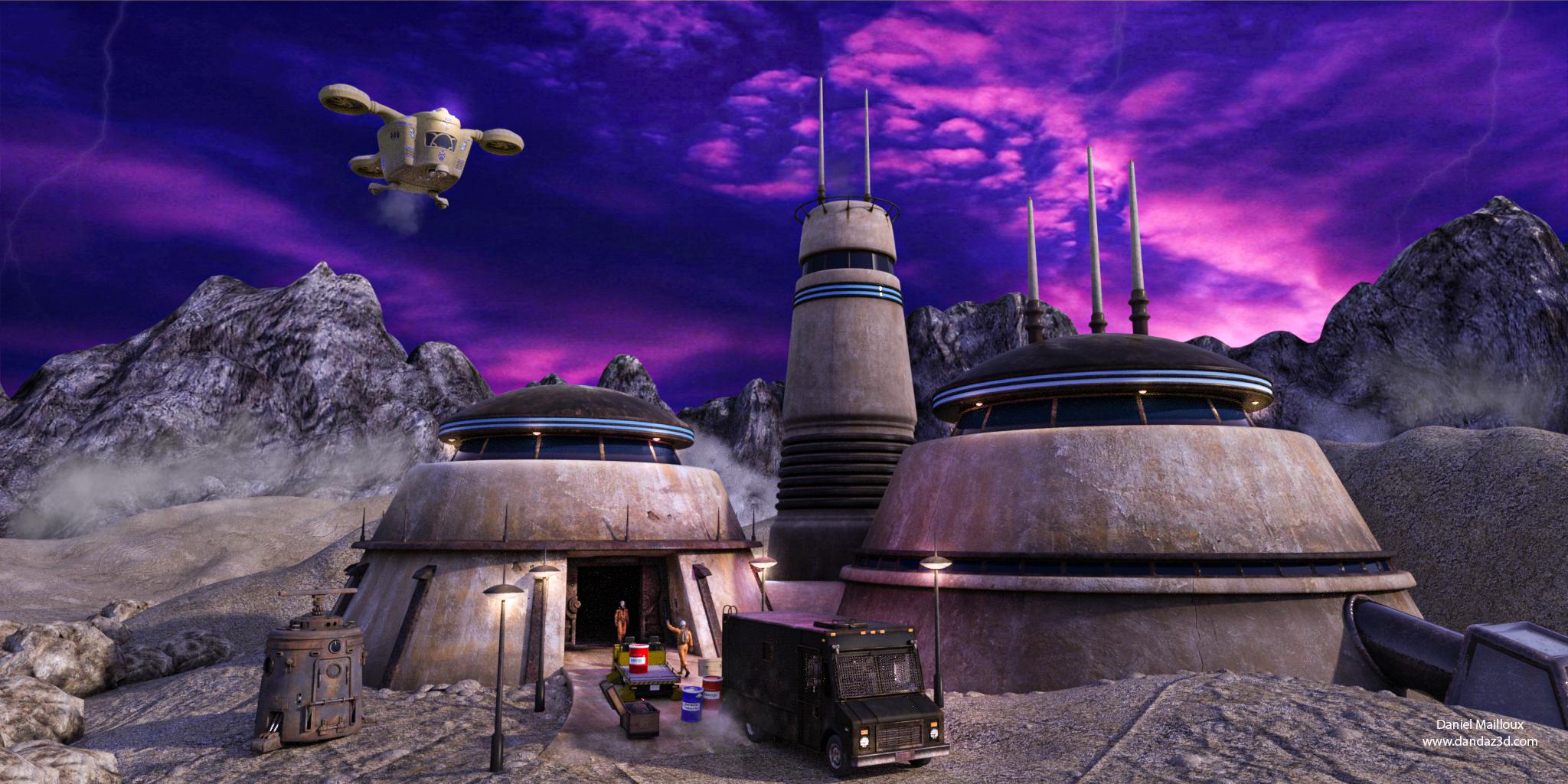 wild purple outpost