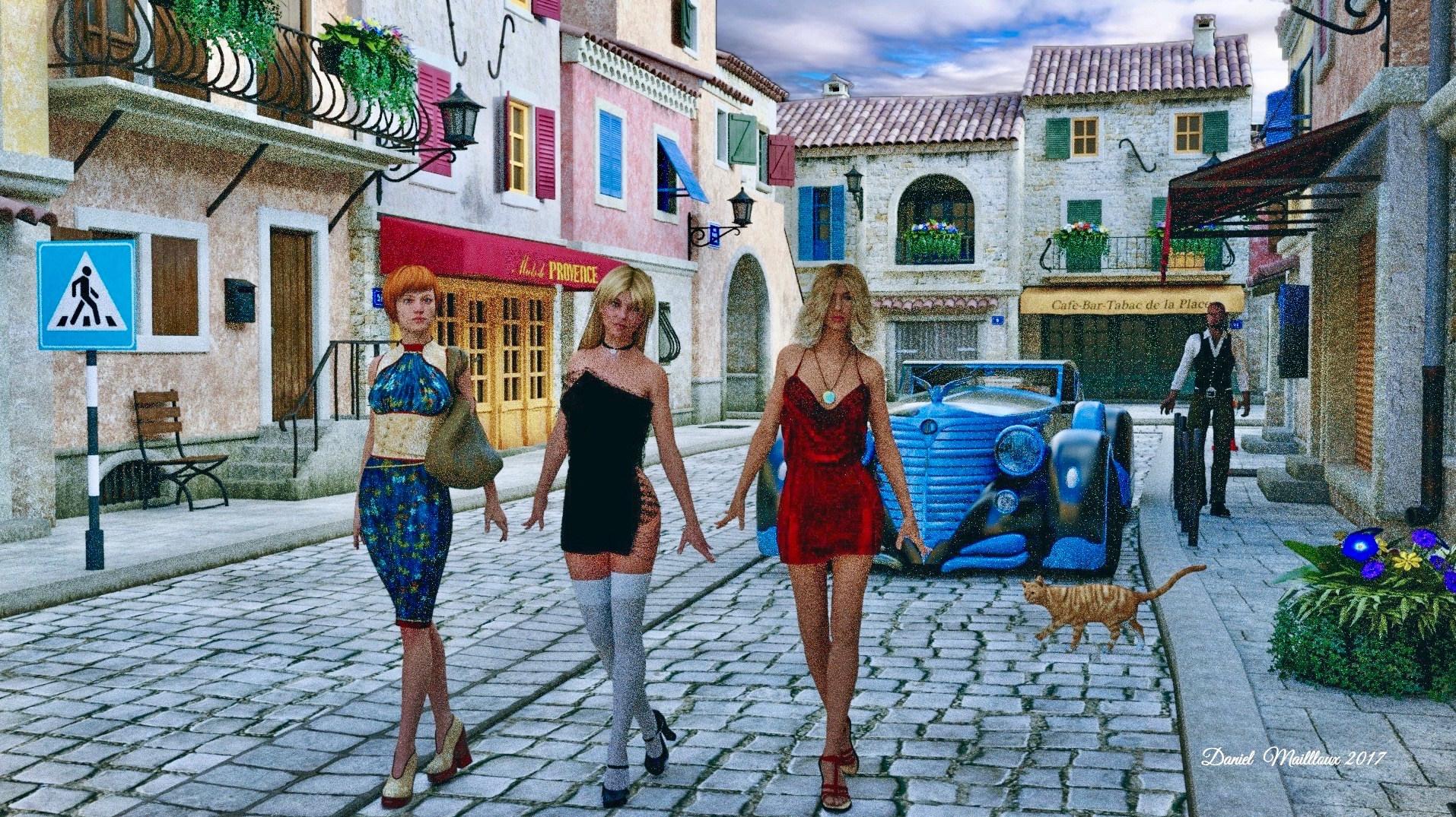Provence girls