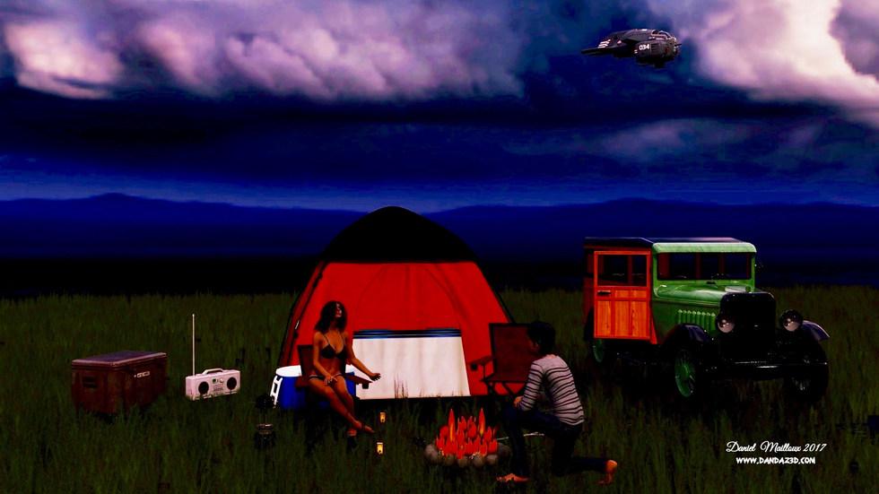 Camping fun night